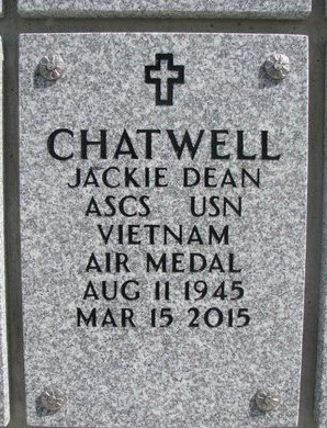 CHATWELL, JACKIE DEAN - Natrona County, Wyoming | JACKIE DEAN CHATWELL - Wyoming Gravestone Photos
