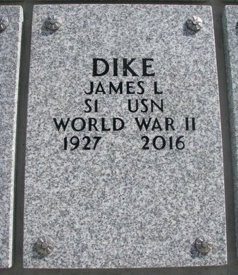 DIKE, JAMES L. - Natrona County, Wyoming | JAMES L. DIKE - Wyoming Gravestone Photos