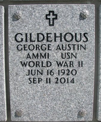GILDEHOUS, GEORGE AUSTIN - Natrona County, Wyoming | GEORGE AUSTIN GILDEHOUS - Wyoming Gravestone Photos