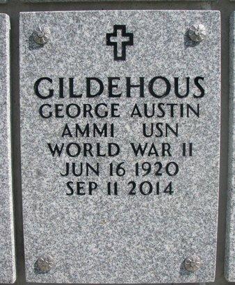 GILDEHOUS, GEORGE AUSTIN - Natrona County, Wyoming | GEORGE AUSTIN GILDEHOUS - Wyoming Gravestone Photos
