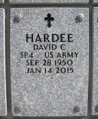 HARDEE, DAVID C. - Natrona County, Wyoming   DAVID C. HARDEE - Wyoming Gravestone Photos