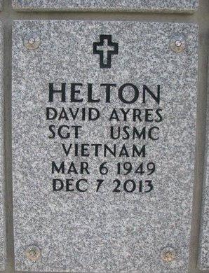 HELTON, DAVID AYRES - Natrona County, Wyoming   DAVID AYRES HELTON - Wyoming Gravestone Photos