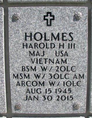 HOLMES, HAROLD H. III - Natrona County, Wyoming   HAROLD H. III HOLMES - Wyoming Gravestone Photos