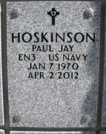 HOSKINSON, PAUL JAY - Natrona County, Wyoming | PAUL JAY HOSKINSON - Wyoming Gravestone Photos