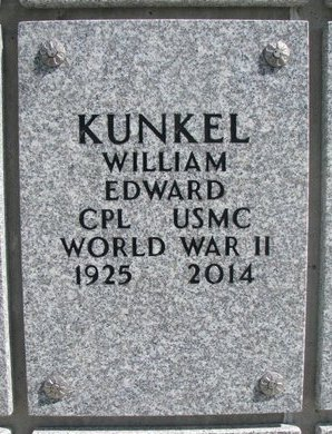 KUNKEL, WILLIAM EDWARD - Natrona County, Wyoming | WILLIAM EDWARD KUNKEL - Wyoming Gravestone Photos
