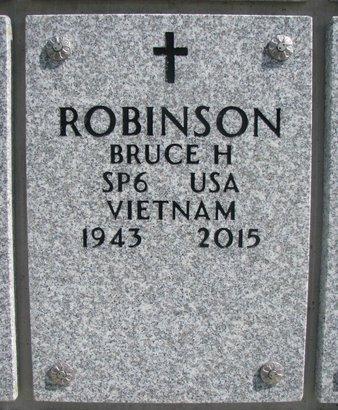 ROBINSON, BRUCE H. - Natrona County, Wyoming | BRUCE H. ROBINSON - Wyoming Gravestone Photos