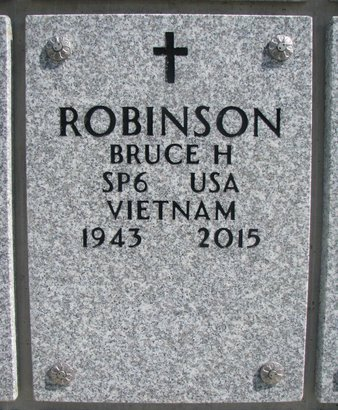 ROBINSON, BRUCE H. - Natrona County, Wyoming | BRUCE H. ROBINSON - Wyoming Gravestone Photos
