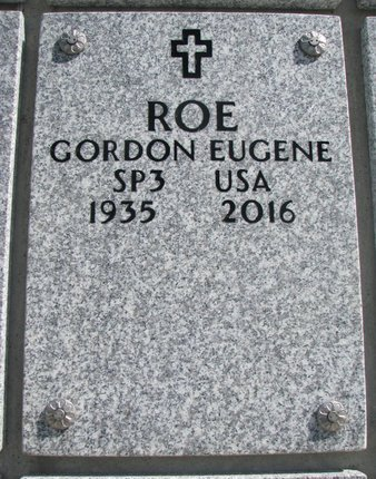 ROE, GORDON EUGENE - Natrona County, Wyoming | GORDON EUGENE ROE - Wyoming Gravestone Photos