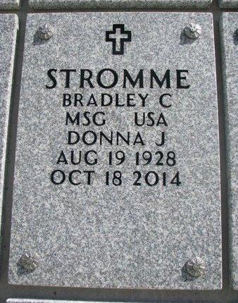 STROMME, DONNA J. - Natrona County, Wyoming | DONNA J. STROMME - Wyoming Gravestone Photos
