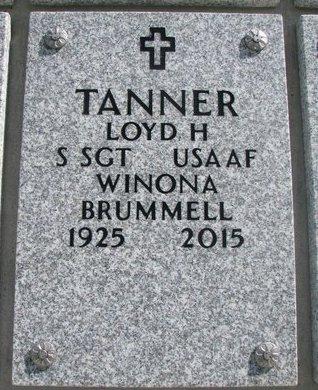 BRUMMELL TANNER, WINONA - Natrona County, Wyoming | WINONA BRUMMELL TANNER - Wyoming Gravestone Photos