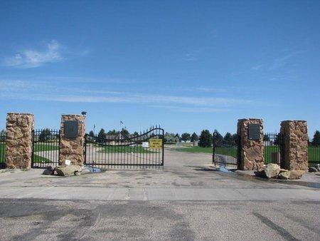 *VETERANS CEMETERY, ENTRANCE - Natrona County, Wyoming | ENTRANCE *VETERANS CEMETERY - Wyoming Gravestone Photos