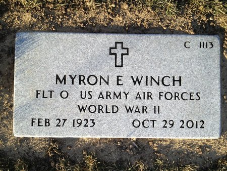 WINCH, MYRON - Natrona County, Wyoming   MYRON WINCH - Wyoming Gravestone Photos