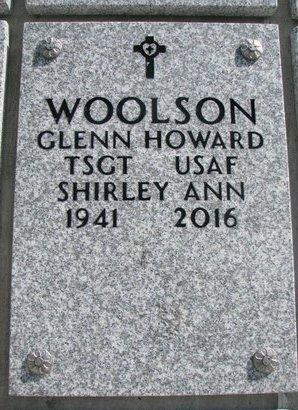 WOOLSON, SHIRLEY ANN - Natrona County, Wyoming   SHIRLEY ANN WOOLSON - Wyoming Gravestone Photos