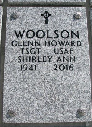 WOOLSON, SHIRLEY ANN - Natrona County, Wyoming | SHIRLEY ANN WOOLSON - Wyoming Gravestone Photos