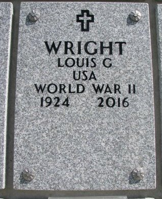 WRIGHT, LOUIS C. - Natrona County, Wyoming | LOUIS C. WRIGHT - Wyoming Gravestone Photos