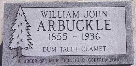 ARBUCKLE, WILLIAM JOHN - Park County, Wyoming | WILLIAM JOHN ARBUCKLE - Wyoming Gravestone Photos