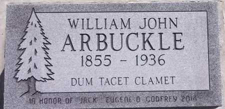 ARBUCKLE, WILLIAM JOHN - Park County, Wyoming | WILLIAM JOHN ARBUCKLE - Wyoming Gravestone Photos