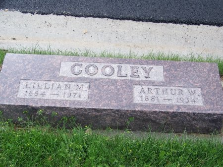 COOLEY, LILLIAN M. - Park County, Wyoming | LILLIAN M. COOLEY - Wyoming Gravestone Photos