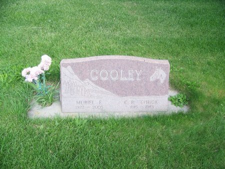 """COOLEY, C. R.""""CHUCK"""" - Park County, Wyoming 