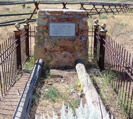 DREWERY, BELLE - Park County, Wyoming | BELLE DREWERY - Wyoming Gravestone Photos