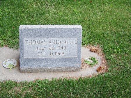 HOGG, JR., THOMAS A. - Park County, Wyoming | THOMAS A. HOGG, JR. - Wyoming Gravestone Photos