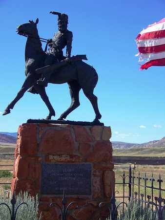 JOHNSTON, JEREMIAH (FAMOUS) - Park County, Wyoming | JEREMIAH (FAMOUS) JOHNSTON - Wyoming Gravestone Photos