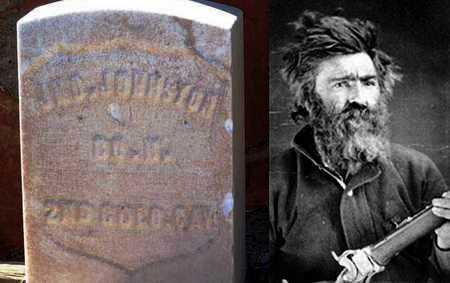 JOHNSTON  (VETERAN UNION), JOHN JEREMIAH - Park County, Wyoming | JOHN JEREMIAH JOHNSTON  (VETERAN UNION) - Wyoming Gravestone Photos