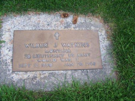 WATKINS (VETERAN WWI), WILBUR J. - Park County, Wyoming | WILBUR J. WATKINS (VETERAN WWI) - Wyoming Gravestone Photos