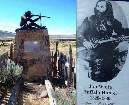 WHITE, JIM (FAMOUS) - Park County, Wyoming | JIM (FAMOUS) WHITE - Wyoming Gravestone Photos