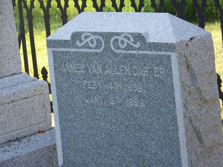 CARTER, JAMES VAN ALLEN - Uinta County, Wyoming | JAMES VAN ALLEN CARTER - Wyoming Gravestone Photos
