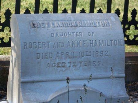 HAMILTON, LUCY LANDON - Uinta County, Wyoming   LUCY LANDON HAMILTON - Wyoming Gravestone Photos